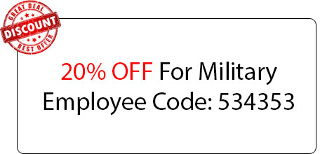 Military Employee 20% OFF - Locksmith at Chicago Heights, IL - Locksmith Chicago Heights Il